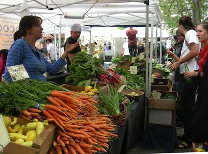 simplify this summer and shop at farmers market for produce and shop online for everything else