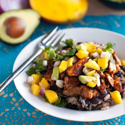 Mango salsa also mixes well with avacado