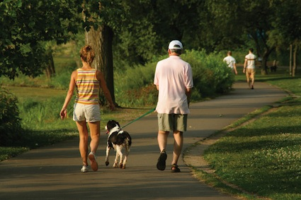 Simplify this summer - go for a walk every night after dinner instead of watching TV