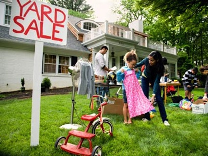 Simplify this summer - have a garage sale