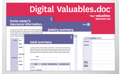 Our Valuables.doc is now available in digital format