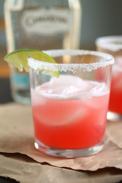 Rapsberry margaritas from Life as a Strawberry