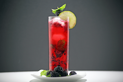 Blackberry Mojito - via One Martiini at a time