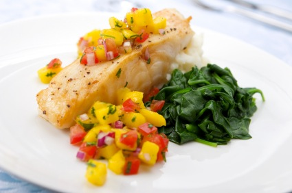 5 ways to dress up dinner with mango salsa