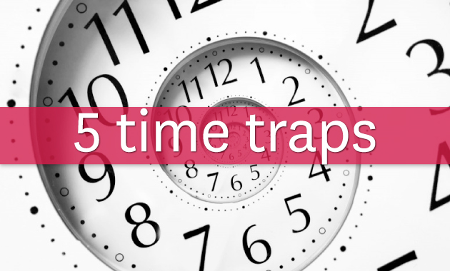 5 time traps for working moms